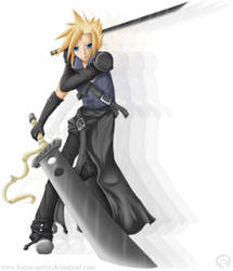 Cloud Strife by Forest-Sprite