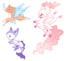 Creature Adopts (1/3 OPEN) by Faeyrie