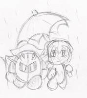 An Umbrella by papersak