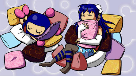 Sleepy Time by papersak