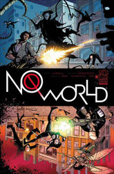 No World #6 Cover by DSketchyT