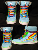 rainbow dash shoes by RizCifra