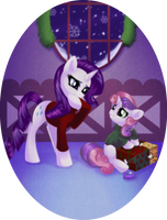 Holiday Ponies 2 of 8 by RizCifra