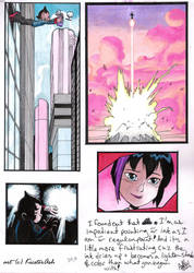 Astro Boy movie comic panels by KicsterAsh