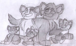 Max And Family by Charlie-Breen