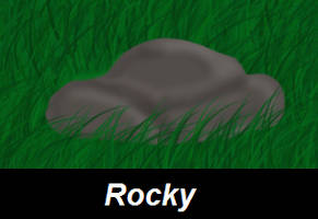 Rocky The Rock by Charlie-Breen