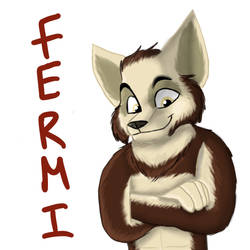 Fermi badge by Charlie-Breen