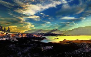 The Sodium Lake by LightDrop