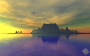 Reaching Amethyst-Bay by LightDrop