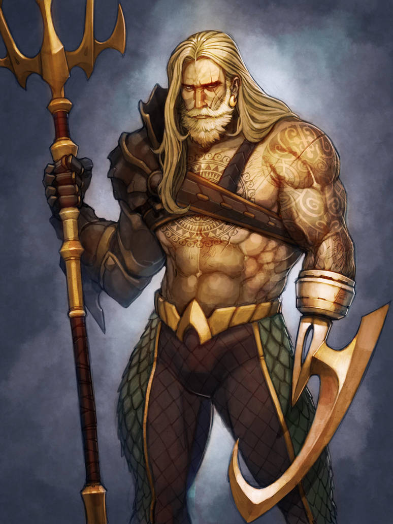 Aquaman by OldManLefty