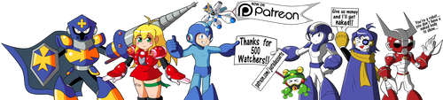 I'm on Patreon now, please support! by JusteDesserts