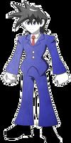 Mega Man Redux Visual Novel Rock sprite 1 by JusteDesserts