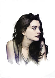 Anne Hathaway took my heart away! by atmosfrozen