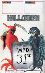 Fear and Death Halloween 2018 by Thagirion