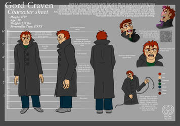 Gord Character Sheet by Thagirion
