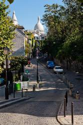 Paris Montmartre by Shibbychibs