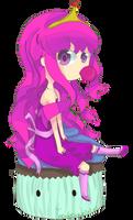 Princess Bubblegum by AChildDrawnToEvil