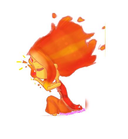 Flame Princess by AChildDrawnToEvil