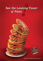 Pizza Hut Advertising Poster by Sozokai