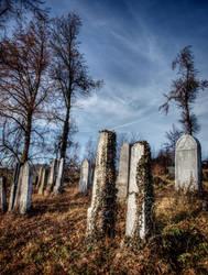 Jewish cemetery by hadeeldar