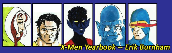 X-Men Yearbook by erikburnham