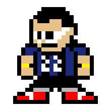 Myself Rock Man's sprite style by die-waffen-legt-an