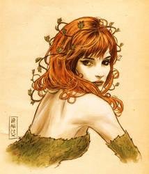 Julie Prayez as Poison Ivy by Vranckx