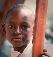 Kid portrait 1 by BaciuC