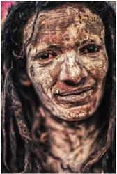 Sadhu portrait C by BaciuC