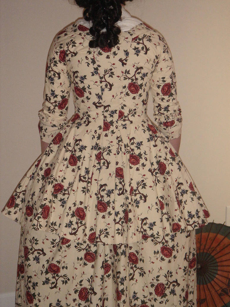 Printed Cotton Pleats Back by ColeV