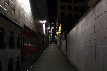 Lone alleyway.. by renedox