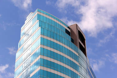Sky blue building.. by renedox