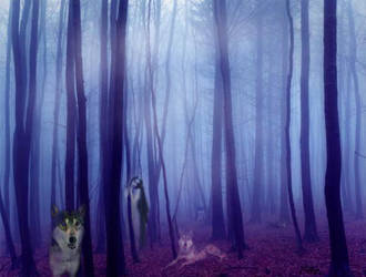 Watchful Spirits by Cynthia-Blair