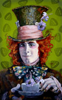 Jack Barakat as the Mad Hatter by Cynthia-Blair