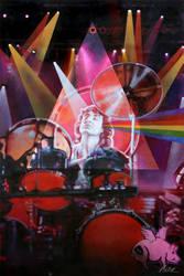 Nick Mason, Pink Floyd by Cynthia-Blair