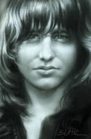 Greg Lake, drawing by Cynthia-Blair