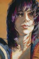 Cynthia Blair self portrait by Cynthia-Blair