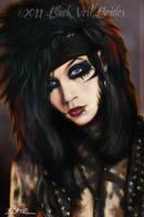 Andy Biersack, closeup by Cynthia-Blair