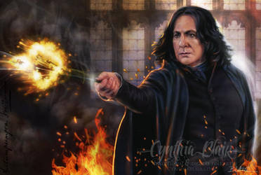 Snape: Sectumsempra 2 by Cynthia-Blair