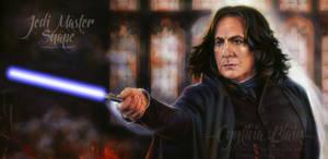 Jedi Master Snape by Cynthia-Blair