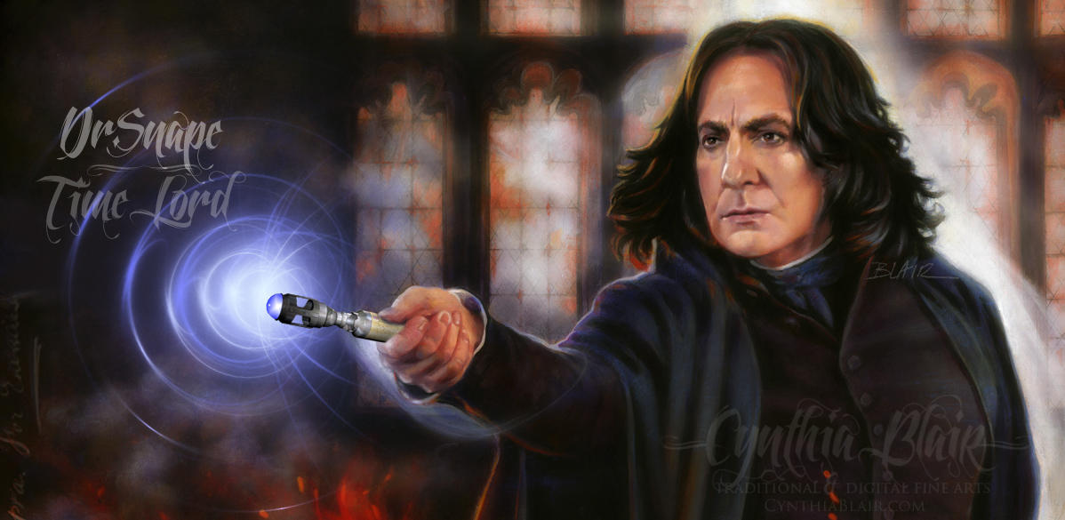 Dr. Snape, Time Lord by Cynthia-Blair