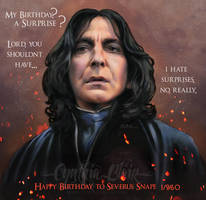 Happy Birthday Snape by Cynthia-Blair