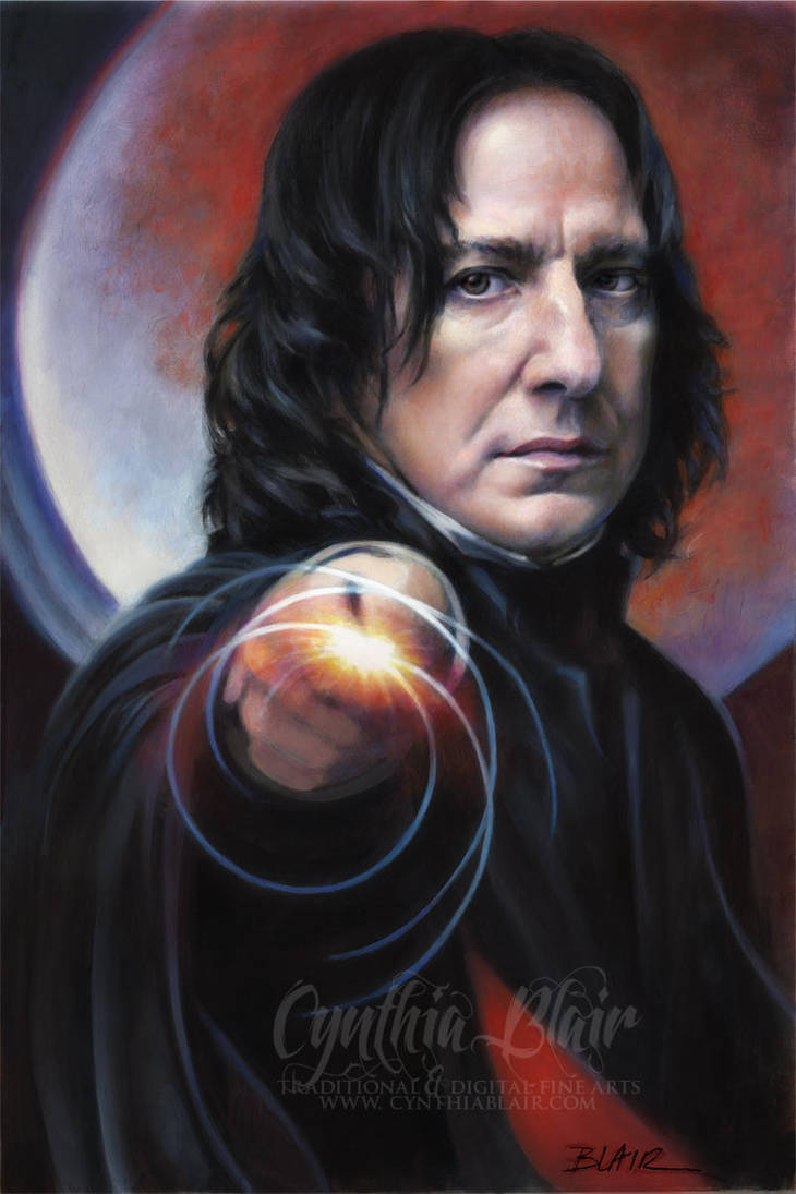 Snape: Defense Against the Dark Arts by Cynthia-Blair