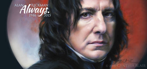 Alan Rickman 2015 by Cynthia-Blair