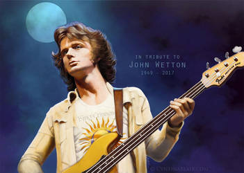 John Wetton tribute by Cynthia-Blair