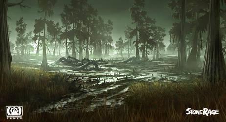 Stone Rage - Swampland by FreeMind93