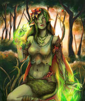 Collab: Dryad Iphys by KiraElusia