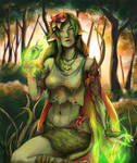 Collab: Dryad Iphys by KiraElusia