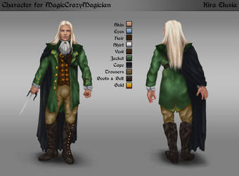 Commission: Character for MagicCrazyMagician by KiraElusia