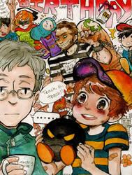 on your birthday by Rin-Uzuki